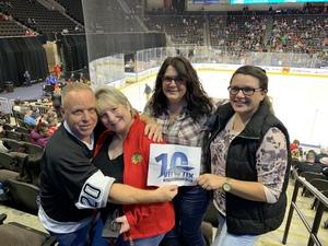 Kevin attended Jacksonville Icemen vs. Florida Everblades - ECHL on Dec 15th 2018 via VetTix