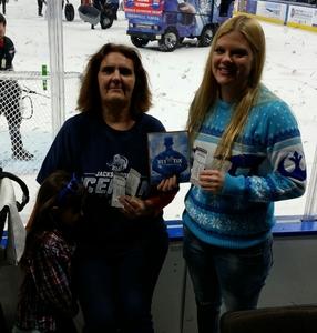 Catherine attended Jacksonville Icemen vs. Florida Everblades - ECHL on Dec 15th 2018 via VetTix