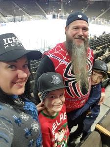 Heather attended Jacksonville Icemen vs. Florida Everblades - ECHL on Dec 15th 2018 via VetTix