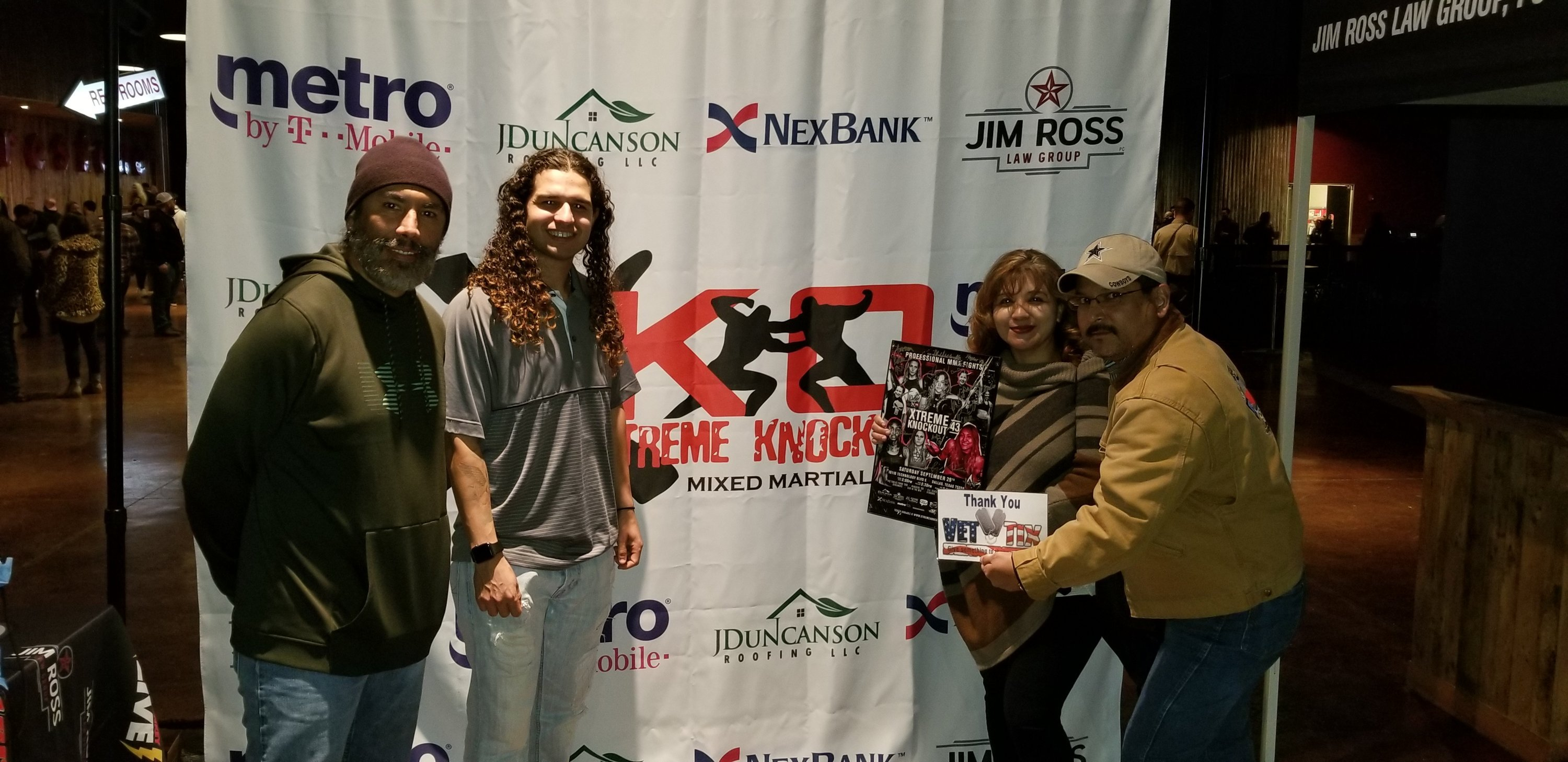 Juan attended Xtreme Knockout Presents - All in at Gas Monkey Live! - General Admission - Live Mixed Martial Arts on Jan 12th 2019 via VetTix