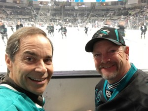 Dwayne attended San Jose Sharks vs. Toronto Maple Leafs on Nov 15th 2018 via VetTix