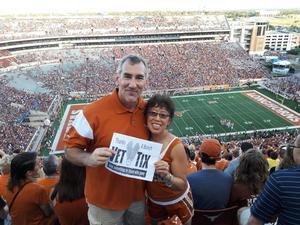 Don attended Texas Longhorns vs. Iowa State - NCAA Football on Nov 17th 2018 via VetTix