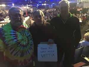 Randy attended 1964 Beatles Tribute on Nov 16th 2018 via VetTix