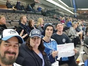 Frank attended Jacksonville Icemen vs. South Carolina Stingrays - ECHL on Dec 19th 2018 via VetTix