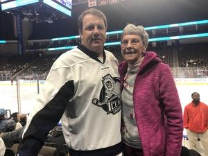 Edward attended Jacksonville Icemen vs. South Carolina Stingrays - ECHL on Dec 19th 2018 via VetTix
