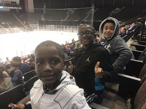 Shelley attended Jacksonville Icemen vs. South Carolina Stingrays - ECHL on Dec 19th 2018 via VetTix