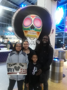 Patricia attended San Antonio Spurs vs. Phoenix Suns - NBA on Dec 11th 2018 via VetTix