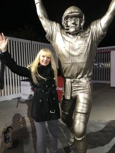 laura attended Pac-12 Football Championship Game Presented by 76 - NCAA Football on Nov 30th 2018 via VetTix
