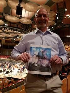 Jeff attended A Classical Christmas Conducted by Brett Mitchell on Dec 8th 2018 via VetTix