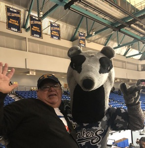 Jorge attended University of California Irvine Anteaters vs. Montana Grizzlies - NCAA Men's Basketball - Salute to Heroes Game on Dec 8th 2018 via VetTix