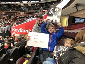 Gerry attended Cleveland Monsters vs. Syracuse Crunch - AHL on Dec 1st 2018 via VetTix