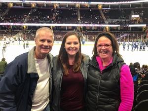 Monica attended Cleveland Monsters vs. Syracuse Crunch - AHL on Dec 1st 2018 via VetTix