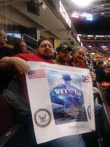 Maurice attended Cleveland Monsters vs. Syracuse Crunch - AHL on Dec 1st 2018 via VetTix