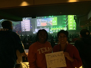 Carmen attended Call of Duty - World League - General Admission 3Day Passes on Dec 7th 2018 via VetTix