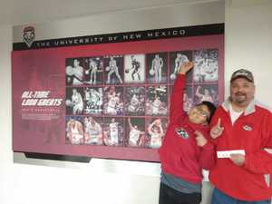 Joseph attended University of New Mexico Lobos vs. UTEP - NCAA Women's Basketball on Dec 5th 2018 via VetTix