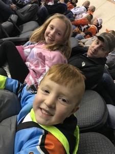 Dustin attended Kansas City Mavericks - Minor League on Dec 8th 2018 via VetTix