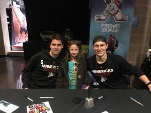 Carla attended Kansas City Mavericks - Minor League on Dec 8th 2018 via VetTix