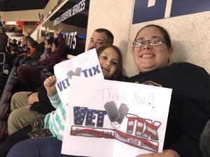 Rachel attended Kansas City Mavericks - Minor League on Dec 8th 2018 via VetTix