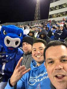 Cody attended 2018 Dollar General Bowl - Sun Belt Conference vs. Mid-american Conference on Dec 22nd 2018 via VetTix