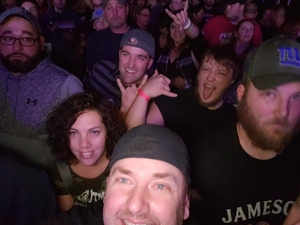 Stephen attended Q103 Presents Five Finger Death Punch and Breaking Benjamin - Heavy Metal on Dec 10th 2018 via VetTix
