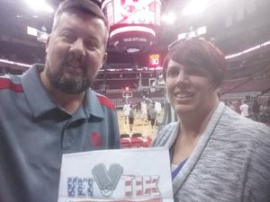 Stacey attended Ohio State Buckeyes vs. South Carolina State Bulldogs - NCAA Men's Basketball on Nov 18th 2018 via VetTix