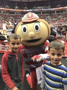 Jeremy H. attended Ohio State Buckeyes vs. South Carolina State Bulldogs - NCAA Men's Basketball on Nov 18th 2018 via VetTix