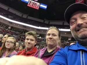 Johnie attended Ohio State Buckeyes vs. South Carolina State Bulldogs - NCAA Men's Basketball on Nov 18th 2018 via VetTix