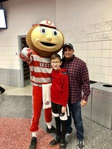 Carlos attended Ohio State Buckeyes vs. South Carolina State Bulldogs - NCAA Men's Basketball on Nov 18th 2018 via VetTix