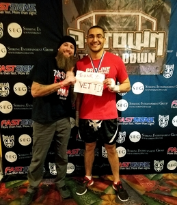 Brooks attended Driller Promotions Presents - A-town Throwdown Xiv - Live Mixed Martial Arts on Dec 15th 2018 via VetTix