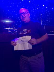 Robb attended America Salutes You: Guitar Legends for Heroes II on Dec 2nd 2018 via VetTix