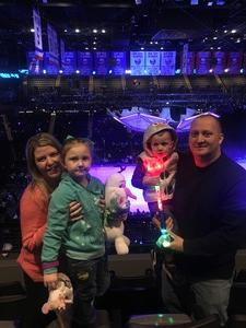 Brendan attended Disney on Ice Presents Frozen! on Jan 10th 2019 via VetTix