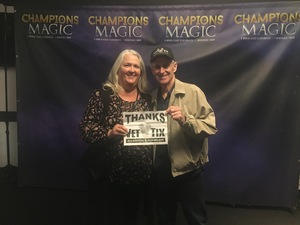 Click To Read More Feedback from Champions of Magic - Evening Show