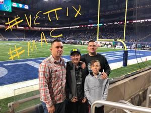 James Cherry attended MAC Championship Game - NCAA College on Nov 30th 2018 via VetTix