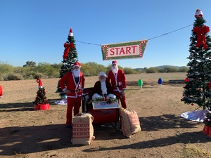 Daniel attended AZ Santa Run on Dec 8th 2018 via VetTix