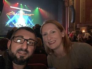 Douglas attended Mannheim Steamroller on Dec 2nd 2018 via VetTix