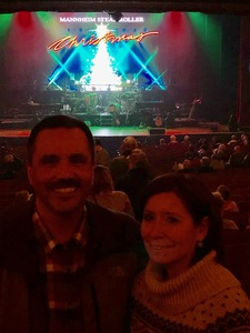 Russell attended Mannheim Steamroller on Dec 2nd 2018 via VetTix
