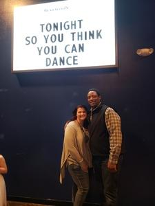 Robert attended So You Think You Can Dance Live! 2018 - Pop on Nov 23rd 2018 via VetTix