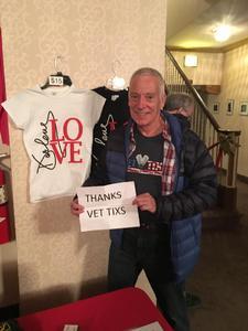 Dan attended Darlene Love- Love for the Holidays on Dec 5th 2018 via VetTix