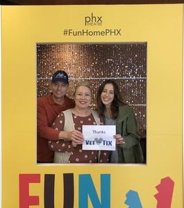 Bruce attended Phoenix Theatre Presents - Fun Home - Matinee on Nov 24th 2018 via VetTix