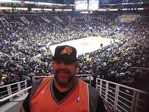 David attended Phoenix Suns vs. Indiana Pacers - NBA on Nov 27th 2018 via VetTix