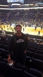 GREGORY attended Phoenix Suns vs. Indiana Pacers - NBA on Nov 27th 2018 via VetTix
