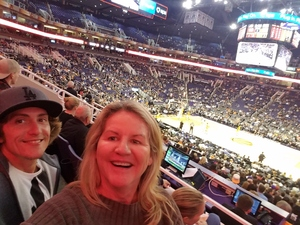 Kimberly attended Phoenix Suns vs. Indiana Pacers - NBA on Nov 27th 2018 via VetTix