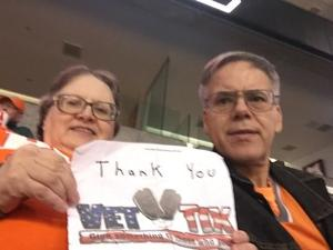 Richard attended Phoenix Suns vs. Indiana Pacers - NBA on Nov 27th 2018 via VetTix