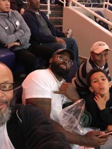 Harvey attended Phoenix Suns vs. Indiana Pacers - NBA on Nov 27th 2018 via VetTix
