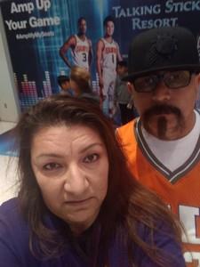 Albert attended Phoenix Suns vs. Indiana Pacers - NBA on Nov 27th 2018 via VetTix