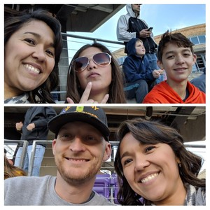 Maria attended Lockhead Martin Armed Forces Bowl - NCAA Football on Dec 22nd 2018 via VetTix