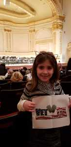 Leyla attended Russian Evolution - From Rimsky - Korsakov to Gliere - Presented by the Orchestra Now on Dec 14th 2018 via VetTix