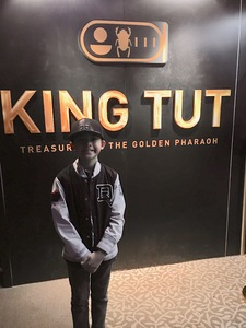 Javier attended King Tut: Treasures of the Golden Pharaoh on Nov 30th 2018 via VetTix