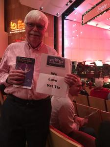 Larry attended The Phoenix Symphony - Holiday Pops - Saturday Matinee on Dec 1st 2018 via VetTix