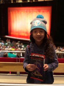 Nicholas attended Disney's Aladdin - Des Moines Performing Arts - Matinee on Nov 29th 2018 via VetTix